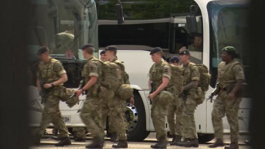 984 Troops Deployed To UK Streets As Terror Threat Raised To 'Critical'