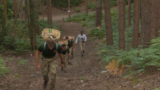 Soldiers take part in Doko Race for NHS Trust 230720 CREDIT BFBS.jpg
