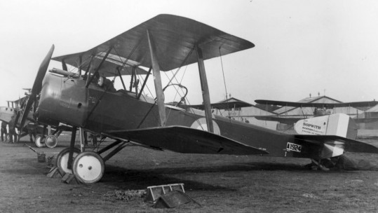 Sopwith 1 and a ½ Strutter
