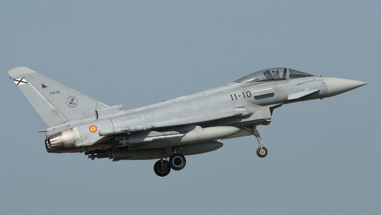 Spanish Air Force Eurofighter Typhoon CREDIT Gerard van der Schaaf Wikipedia
