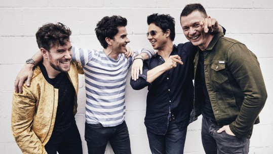 Stereophonics Kelly Jones, Richard Jones, Adam Zindani & Jamie Morrison 'Scream Above The Sounds' Music Special Amy Casey Forces Radio BFBS
