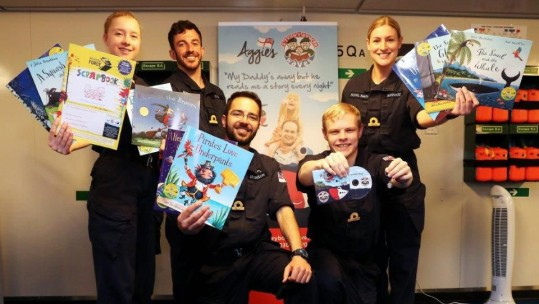 Aggie's Storybook Waves Bedtime Stories Parent Child Sailors Royal Navy Royal Marines