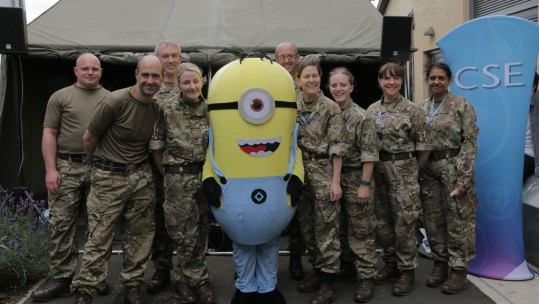 Tactical Medical Wing gets a treat