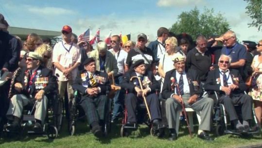 London Cabbies Take D-Day Veterans Back To Normandy