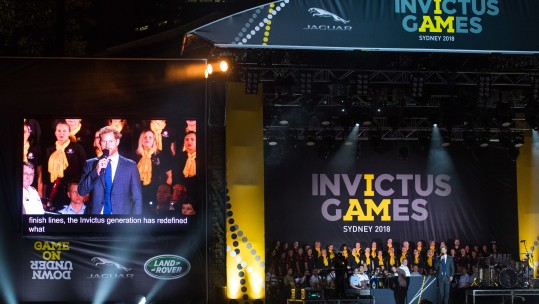 The Duke of Sussex opened this year's Invictus Games 2018. (Picture Dominic LipinskiPA)