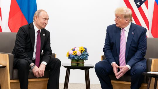 Trump Putin G20 Summit