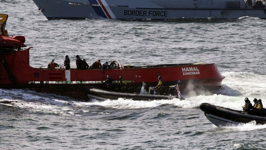 Royal Navy In £500 Million Drugs Bust
