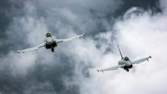 Typhoon aircraft