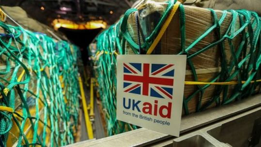 UK Aid CREDIT Crown copyright