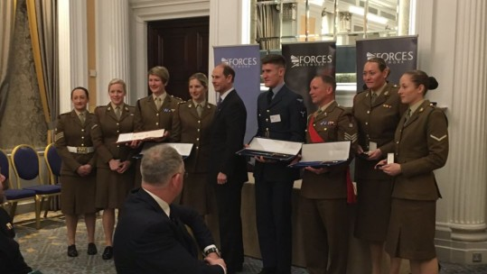 UK Armed Forces Sports Awards winners 2018