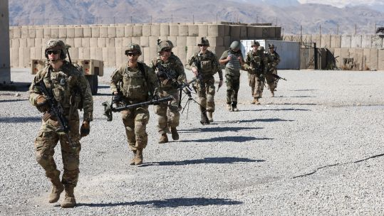 US 48th Infantry Combat Team in Kapisa Province, Afghanistan in 2019(US Department of Defense).