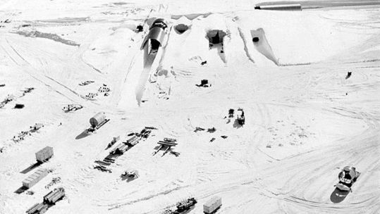 US Cold War Nuclear Base Unvovered As Ice Melts Credit US Army 250209