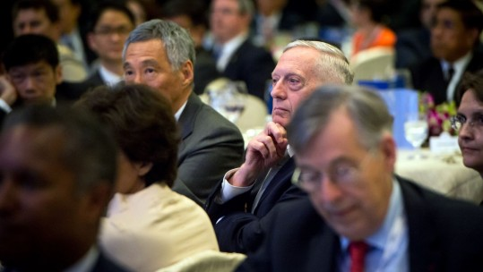 US Defence Secretary James Mattis Singapore Visit STOCK PHOTO
