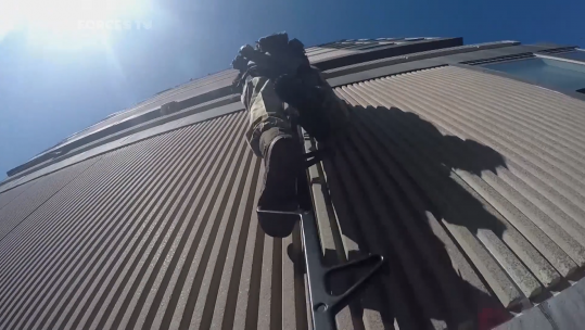 Vertical Assault Commandos Test New Climbing Equipment