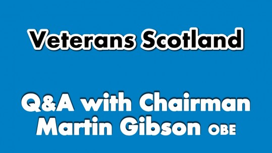 Veterans Scotland Q&A