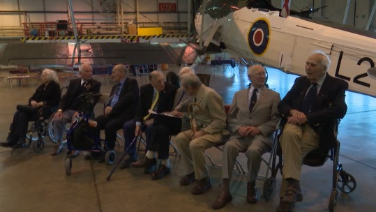 WWII Veterans Reunited With The Fairey Swordfish