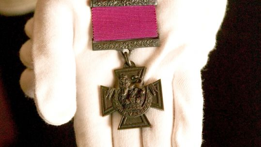 Specimen Victoria Cross Medal Approved by Queen Victoria Defence Imagery