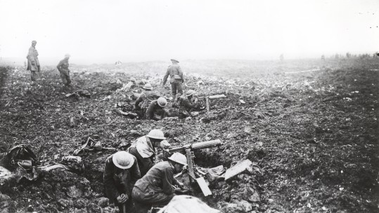 Services To Mark 100th Anniversary Of WW1 Battles