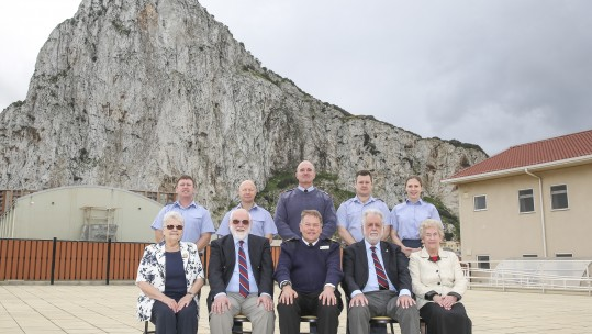 RAF Veterans The Rock Gibraltar