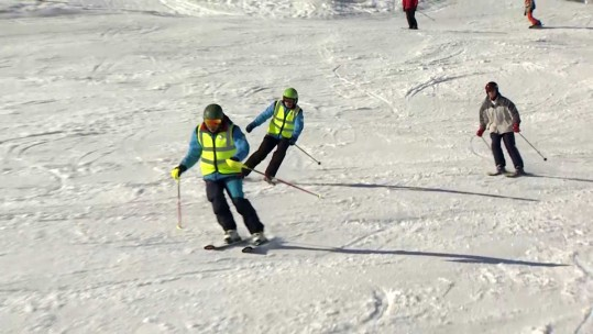 Could You Ski Down A Mountain Blindfolded?