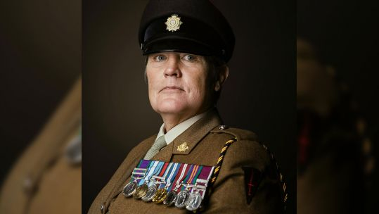 WO2 Deborah Penny LGBTQ+ History Month Interview With Amy Casey BFBS The Forces Station