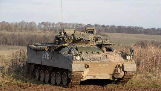 Warrior Infantry Fighting Vehicle