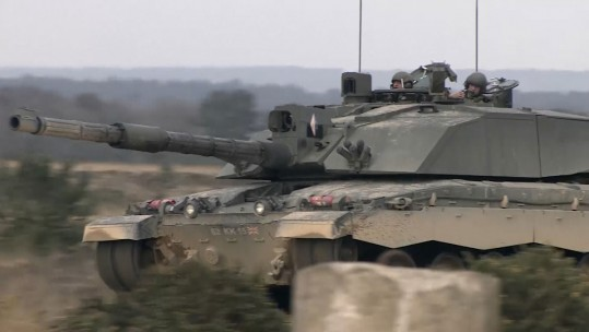 Reserves Take Challenger 2 Tanks For A Spin