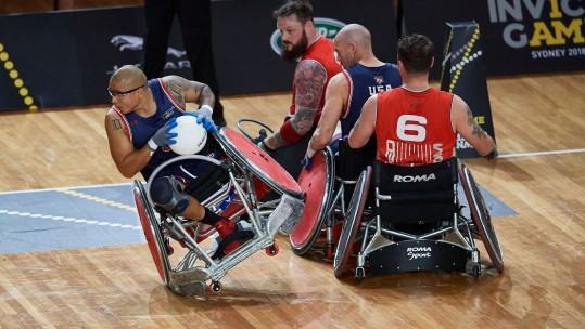 Wheelchair Rugby Semi-Final