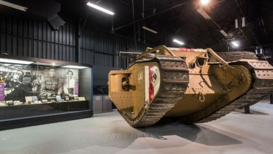 Tank Museum Appeal To Find Military Cross Won By Exhibit Commander