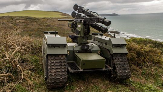 Will robots fight alongside Royal Marines