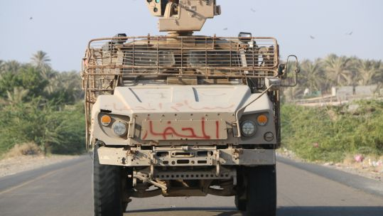 Yemen Military Vehicle Credit PA Images 29.12.19