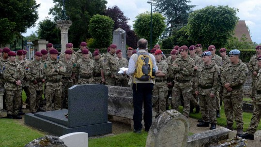 Paratroopers Visit Normandy Battlefields for D-Day