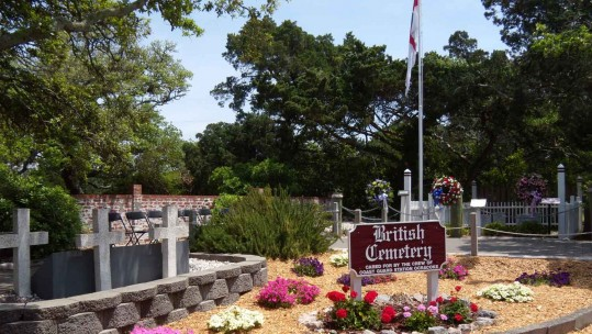 The British Cemetery, Ocracoke Island Off North Carolina