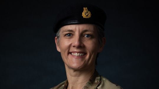 Major General Sharon Nesmith (Picture: British Army).