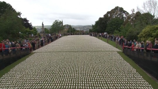 A 12 Inch Figurine For Every Man Killed On The First Day Of The Somme