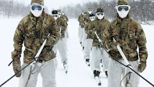 Cold weather picture MoD/Crown copyright