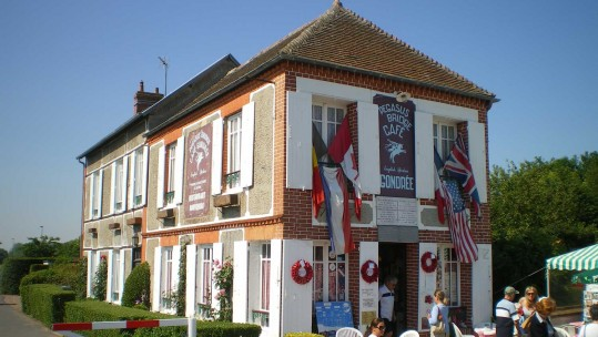 The First French House Liberated on D-Day
