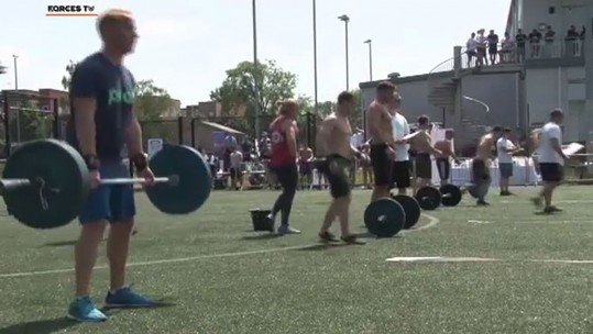 Functional fitness competition