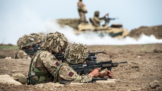 Cuts Threaten To Close Crucial Army Battlefield Training