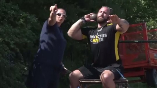 Invictus Games training under way