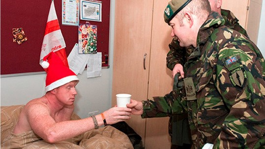 Gunfire: The Traditional Christmas Tipple