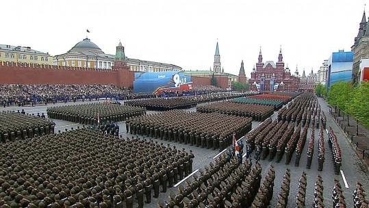Russian troops Red Square