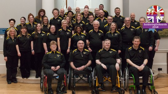 The Invictus Games Choir