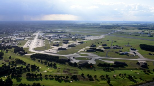 Lakenheath From the air (Credit: US Dept Of Defense)