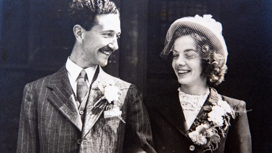 RAF Matchmaker Gives Couple 70 Years Of Happy Marriage SWNS