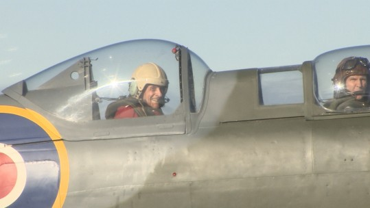 Ray Roberts 100 Year Old Spitfire Pilot