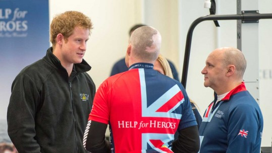 Prince Harry Meets Invictus Contenders