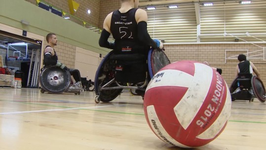 GB Wheelchair Rugby Starts Crowdfunding For Tokyo Paralympics