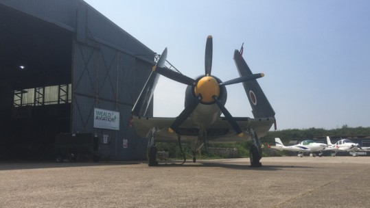Restored Sea Fury Only Weeks Away From Taking To The Skies