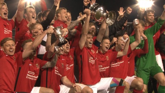 Video: The Army Take The Inter-Services Football Title